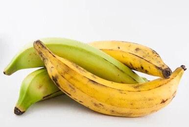 Banane plantain moitié mûre 1kg