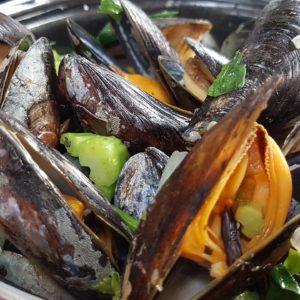 Crustacés et escargots